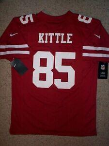 NIKE San Francisco sf 49ers GEORGE KITTLE nfl Jersey YOUTH KIDS BOYS (L-LG-LARGE