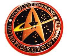 Star Trek Series Starfleet Command United Federation of Planets Pin