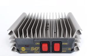 ZETAGI B47 MOSFET AMPLIFIER - 50W AM/FM, 100W SSB MAX HIGH QUALITY LINEAR