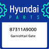 87311A9000 Hyundai Garnishtail gate 87311A9000, New Genuine OEM Part