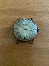 Elegante señores reloj de pulsera Cauny centenario funcionan unitas 6310, funciona
