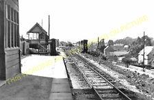 Waterhouses Railway Station Photo. North Staffs & Leek & Manifold Railways. (11)