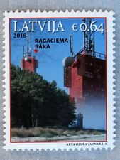 Latvija / Lettland_Stamp 2018_Lighthouses_Leuchttürme_Faro_Fyr_ Ragaciema Baka