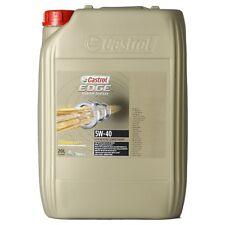 Castrol EDGE Titanium FST Turbo Diesel 5W-40 bidone da 20 litri