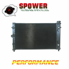 Black Aluminum Radiator For Holden Commodore Statesman Crewman VZ WL V8 3ROW
