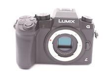 Panasonic Lumix G7 16.0mp Cámara Digital - Negro (solo carcasa)
