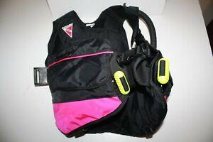 Oceanic Bioflex BCD Scuba Vest Detachable Weight Pockets Pink Size XS