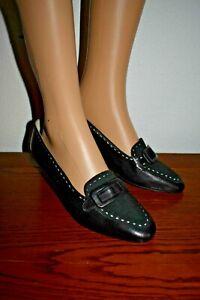 MOCASSINS tout cuir daim femme souliers Chaussures marron chocolat 39 1/2 NEUF !