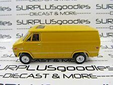 Greenlight 1:64 Scale LOOSE Collectible Yellow 1972 GMC VANDURA Diorama Van