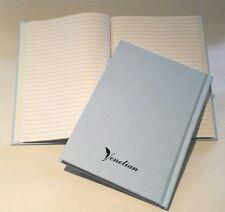 30 A5 Simulation gouverné Note livres. Carbone nuetral Heritage Bleu ciel Vintage couverture.