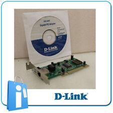 LOT 20 unità x Scheda di Rete Ethernet D-Link PCI DGE-528T Gigabit low profilo