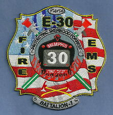 MEMPHIS TENNESSEE FIRE DEPARTMENT ENGINE COMPANY 30 PATCH