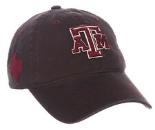 TEXAS A M AGGIES NCAA ADJUSTABLE STRAPBACK STATESIDE DAD CAP HAT NWT! ZEPHYR b3d72d27deab