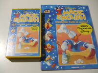 Disney's Magic English - Cooking: Tutti In Cucina! N°15 - VHS + Allegato