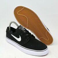 Nike SB Stefan Janoski GS Boys Black White Gum 525104-021 7 Youth Kids Skate