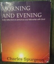 Morning and Evening by Charles H. Spurgeon (2012, Paperback)