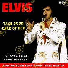 Elvis Presley Take Good Care Of Her Uk 7 Inch 45 SLEEVE ONLY