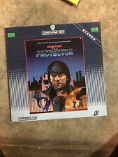 🔥🔥THE PROTECTOR LaserDisc LD Jackie Chan (11538LV, 1986) RARE TESTED🔥🔥