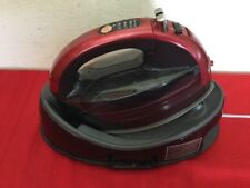 PANASONIC STEAM IRON - 360 FREESTYLE, MODEL NI-WL602 Red With Cover