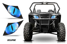UTV Headlight Eye Graphics Kit Decal Cover For Arctic Cat Trail/Sport ECLIPSE U
