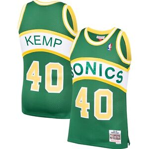 Shawn Kemp Seattle SuperSonics Mitchell Ness 1994-95 Hardwood Classic Jersey