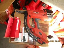 HILTI TOOLS GX3 Gas operated  Actuated Nail Gun Fastening Tool w/ fastener (967)