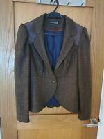 Ladies Tweed Riding Jacket Size 14