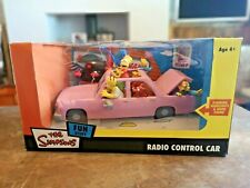 The Simpsons R/C Remote Radio control Car 2005 Not out of Box