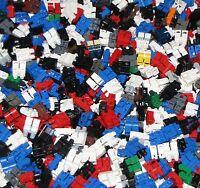 LEGO BULK LOT OF 100 MINIFIGURE MINIFIG LEGS PANTS CITY TOWN FIGURE BODY PARTS