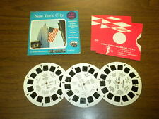 NEW YORK CITY (packet A653) Viewmaster 3 reels PACKET SET vintage