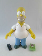 The Simpsons WOS World of Springfield - Homer - Playmates 2000 Action Figure
