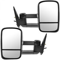 Towing Mirrors Power w/o Turn Signals NON-HEATED For 1997-2013 NISSAN PATROL GU