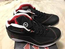 "NEW! Rare ,Converse Vintage  DWAYNE ""WADE 3 MID"" M 8.5 LEATHER Miami Heat"