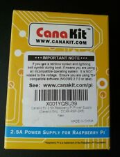 Canakit 2.5A Power Supply for Raspberry Pi