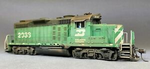 New - Weathered Broadway Limited BN GP20 #2038 DC/DCC/sound HO scale