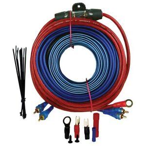 Audiopipe BMS1500SX 8 Gauge Amplifier Wiring Kit - 1500watts W/rca Cables