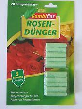 (€5,99/100g) Combiflor Düngestäbchen Rosen 20 Stück Langzeitdünger Rosendünger