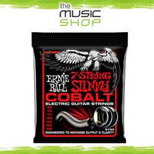 Ernie Ball 2730 Cobalt 7-String Skinny Top Slinky Electric Guitar Strings 10-62