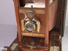 Century Model 46 plate camera Plattenkamera (USA) Holz Laufboden