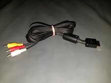 PLAYSTATION Genuine Sony OEM RCA AV Audio/video Cable For PS1 PS2 PS3 GOOD USED