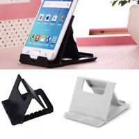Portable Foldable Plastic Mini Table Desk Stand Holder for Mobile Phone Tablets