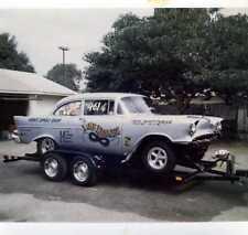 """Lone Ranger 1957 Chevy Drag Car 1/25th scale model car decal"