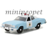 GREENLIGHT 42820 A 1974 FORD TORINO SAN FRANCISCO POLICE CAR 1/64 LIGHT BLUE