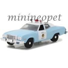 GREENLIGHT 42820 A 1974 FORD TORINO SAN FRANCISCO POLICE CAR 1/64 LIGHT BLUE