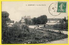 cpa Rare 94 - CHAMPIGNY sur MARNE Le Vieux COEUILLY Animée Visitez le Château