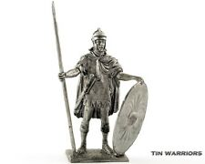 Roman auxiliary infantry. Tin toy soldier 54mm miniature statue. metal sculpture