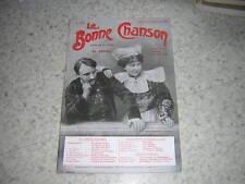 1911.La Bonne chanson.N° spécial Bourgogne.Botrel