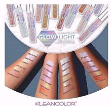 Kleancolor GLOW LIGHT-MULTITASKING LIQUID HIGHLIGHTER - ALL 12 COLORS! NEW
