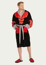 Mens Marvel Avengers Ant-Man Infinity War Fleece Dressing Night Gown Bath Robe