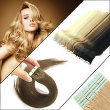 Lady hair Tape in Remy Human Hair Extensions Pretty Advanced Fit Soft Glossy UK